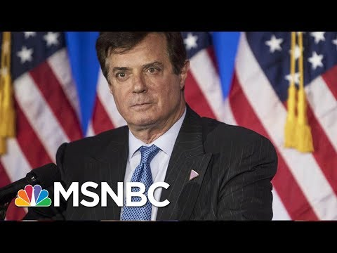 Following The Path From Paul Manafort To Robert Mueller | Rachel Maddow | MSNBC