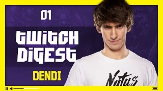 twitch digest dendi 1 battlecup ft dread solo ramzes666 resolut1on p 1 eng subs