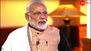 Watch Zee News Exclusive: Sudhir Chaudhary interviews Prime Minister Narendra Modi