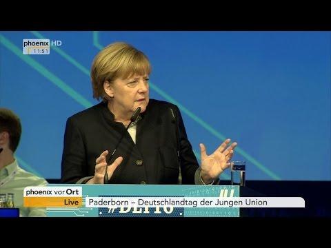 Deutschlandtag der Jungen Union: Rede von Bundeskanzlerin Angela Merkel am 15.10.2016