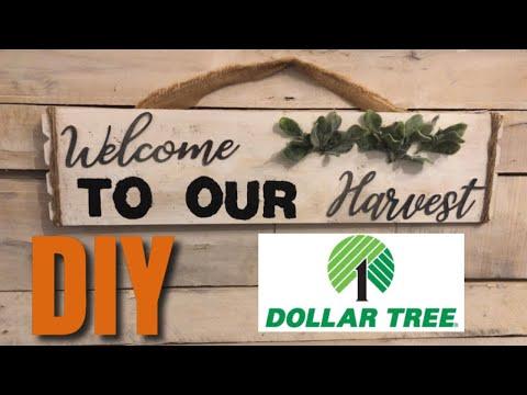 DOLLAR TREE DIY FALL FARMHOUSE DECOR