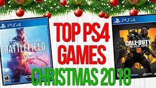 Top PS4 Games Christmas 2018