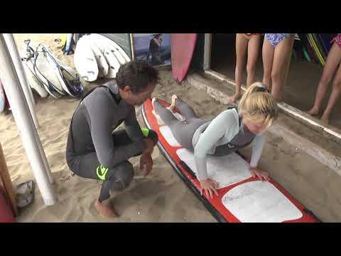 Vive Verano estuvo aprendiendo a Surfear en Cachagua
