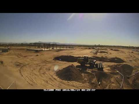 The Village at Canyon State Academy Construction Time Lapse