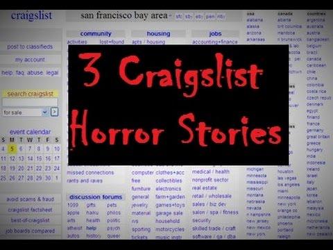 426dbb9ac4 3 TRUE Craigslist Horror Stories - YouTube