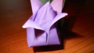 Origami Tulip And Stem(hd)