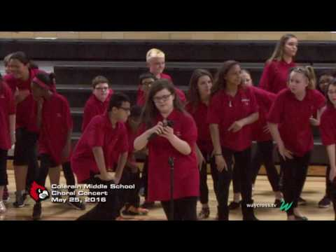 Colerain Middle School Choral Concert: May 25, 2016