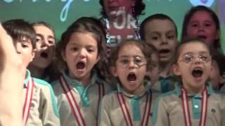 Okumayı Söktük Madalyayı Kaptık Şarkılar Söyledik-Yaşasın Okulumuz