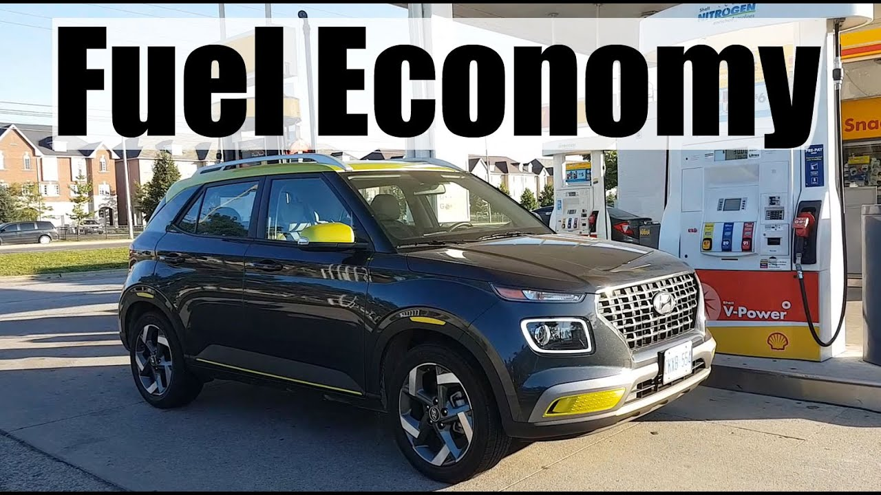 2020 Hyundai Venue - Fuel Economy MPG Review + Fill Up Costs