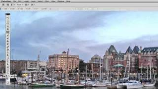 How to level the horizon in Photoshop