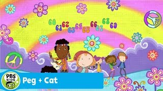 peg cat   the sixties song   pbs kids