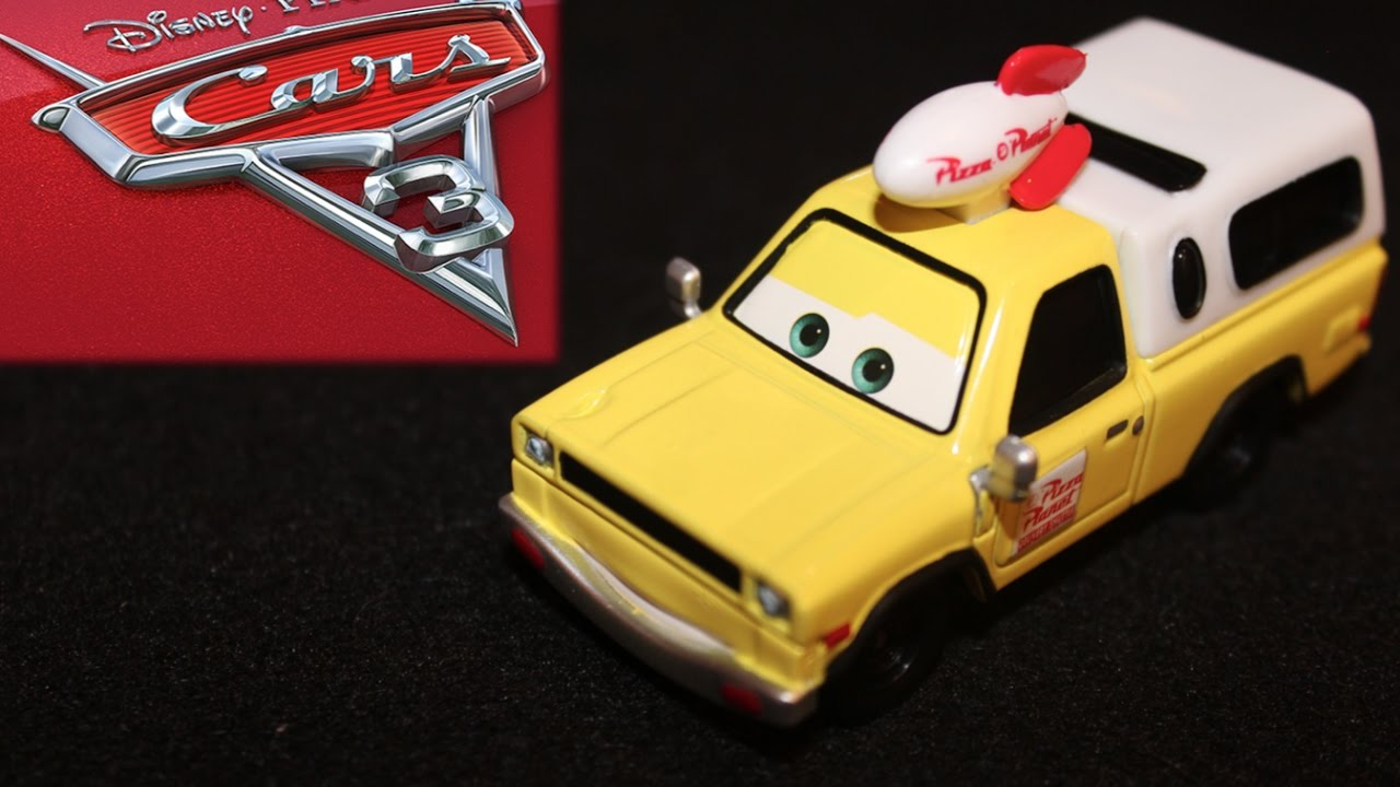 Mattel Disney Cars 3 Todd Pizza Planet Truck Pixar Easter Egg Cameo Die Cast