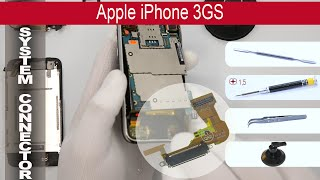 How to replace 🔧🔌📱 Chagring port & 🎤  Microphone 🍎 Apple IPhone 3GS(How to replace chagring port IPhone 3GS by himself. Removal system connector and microphone IPhone 3GS at home with a minimal set of tools., 2015-04-18T15:13:45.000Z)