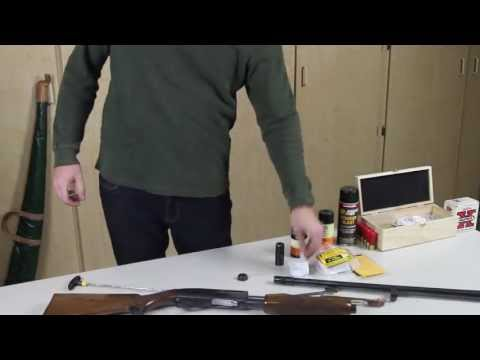 How to properly clean a 12 guage pump action shotgun