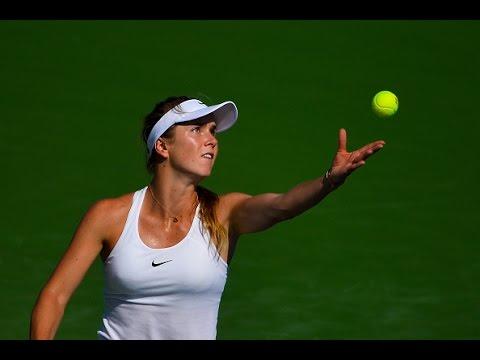 2016 Connecticut Open Quarterfinals | Elina Svitolina vs Elena Vesnina | WTA Highlights