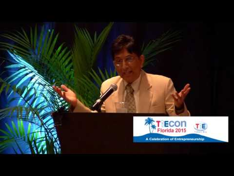 TiECon Florida 2015 Lunch Keynote Rahul Shukla, President/CEO, S.S. White Technologies.