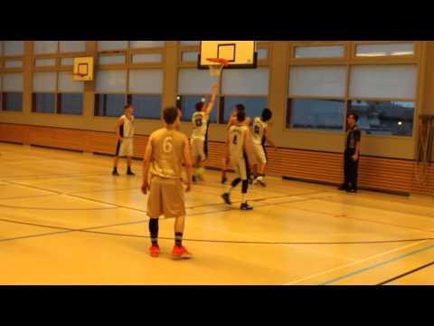 Sven Beatrix #11 BCKE vs St Otmar Basket