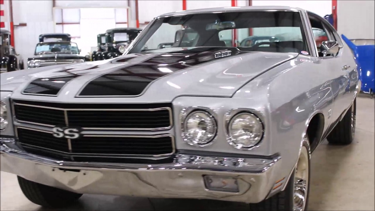 1970 Chevy Chevelle silver - YouTube