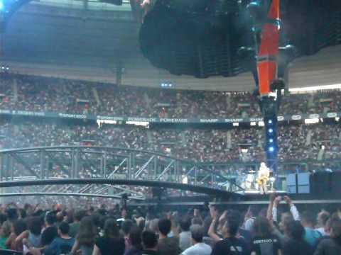 u2 live paris stade de france red zone 12 07 2009 1 youtube
