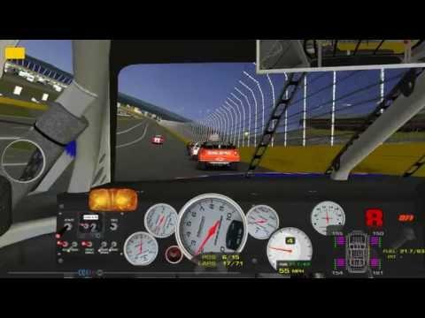 Arca Sim Racing: Charlotte Full Race Onboard