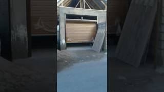 Ворота  секционные DoorHan вид снаружи(, 2017-03-31T06:53:18.000Z)