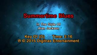 Alan Jackson - Summertime Blues (Backing Track)