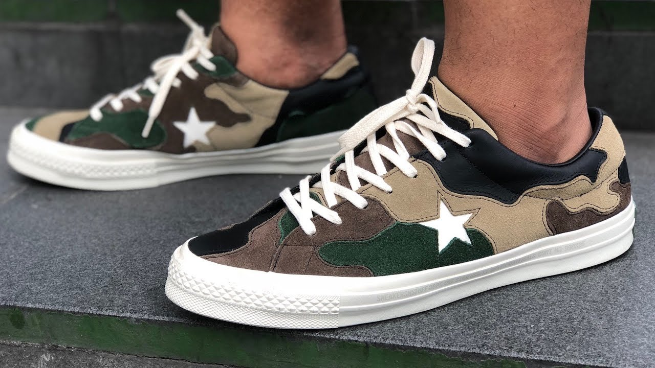 81b8da652284 Converse One Star x Sneakersnstuff (SNS) Review - YouTube