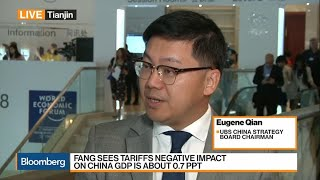 UBS' Qian on China's Economy, Trade Tensions