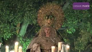 Virgen de los Desamparados (Caído) por Pl. de Mina y C/ Antonio López (Semana Santa Cádiz 2019)