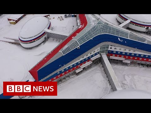 Inside Russia's Arctic military base - BBC News