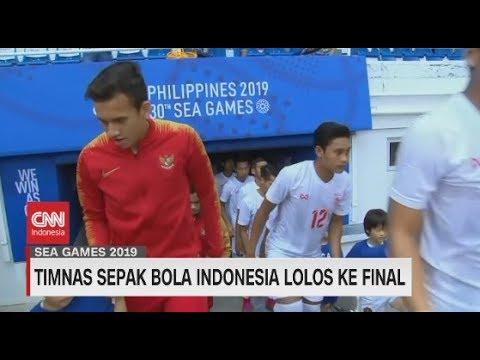 Terjang Myanmar   Timnas Sepak Bola Indonesia Lolos Ke Final