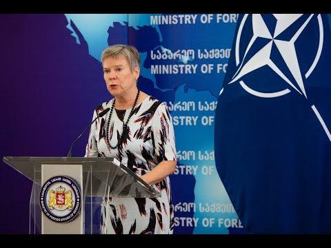 Заместитель генерального секретаря НАТО встречается с ЕГУ
