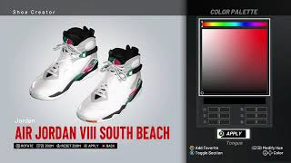 low cost 3a3ee 604dd NBA 2K19 Shoe Creator - Air Jordan 8