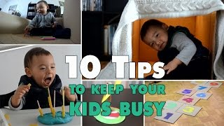 MOM HACKS | 10 einfache Spielideen für Kleinkinder | mamiblock - Der Mami Blog
