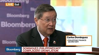 We Are Not Complacent on Inflation, Says Philippine Finance Secretary