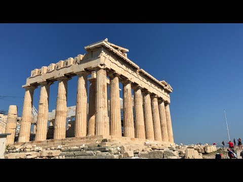 Athens Greece 2017 (Professional Travel Video  (4K))