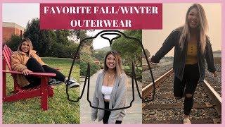 MY FAVORITE FALL/WINTER OUTERWEAR | Trina D