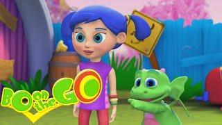 Cartoons Für Kinder | Bo-auf der GO! - Bo-und die Pull-Apart-er | Lustige Karikaturen