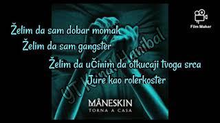 Maneskin - I wanna be your slave - Želim da sam tv