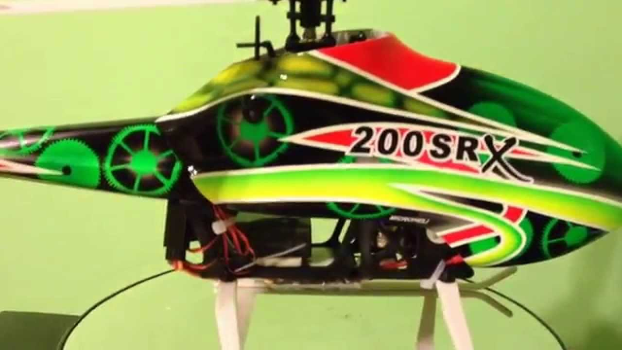 Blade 200 srx w microheli upgrades youtube