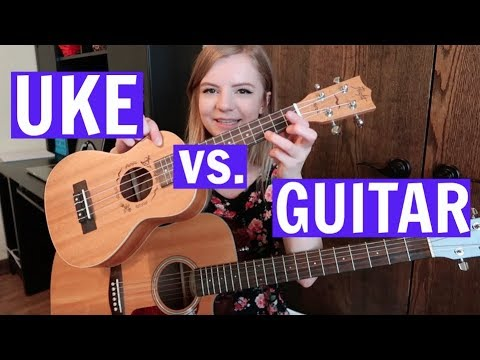 How to transition from playing ukulele to guitar - The main differences between the two instruments