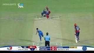 Delhi Daredevils VS Rajasthan Royals Match Highlights I IPL 2018 I Match no 30