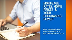 Mortgage Rates, Home Prices, & Your Purchasing Power