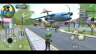 Grand Action Simulator - New York Car Gang #28 | THE BIGGEST AIRCRAFT BOEING 747 | Android GmePlay screenshot 5