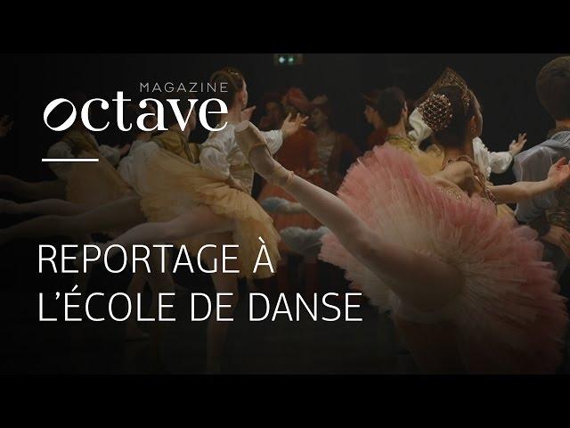 Reportage à l'École de Danse de l'Opéra de Paris