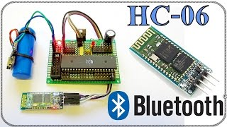 Урок 1: bluetooth модуль HC-06