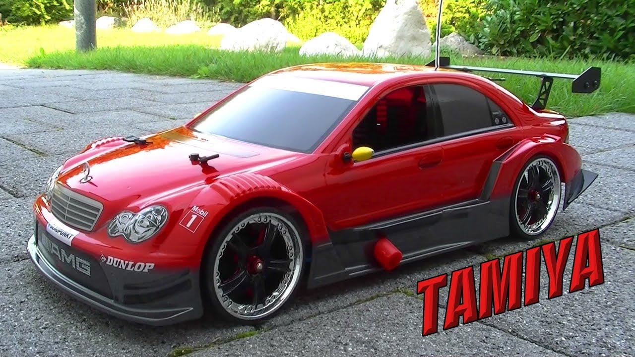 Tamiya XBG MercedesBenz AMG CClass DTM 2006  YouTube