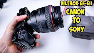 Адаптер Viltrox EF-EII. Объективы Canon на камеры Sony. Обзор и тесты.
