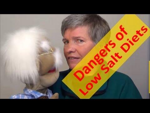 Dangers of Low Salt, Low Sodium Diets