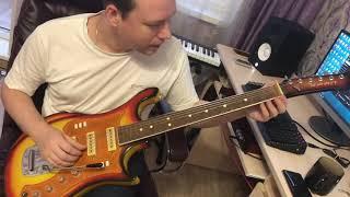 Купил гитару Урал 650, буду восстанавливать